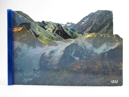 Montagnes feuilletées