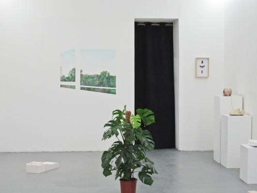 Vue de l'exposition Paysage(s), Galerie Rdv 2014